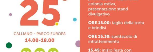 Festa dei 25 anni e di chiusura Colonio 2019